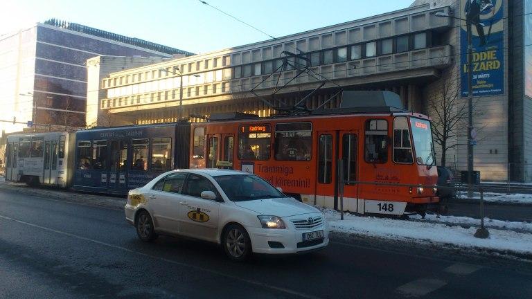Trams in Tallinn, Estonia