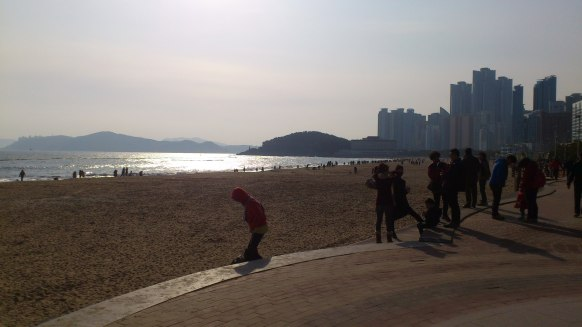 Haeundae Beach, Busan, South Korea