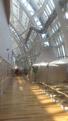Inside the glass dome relation area, Spa Land, Shinsaegae, Centum City, Busan South Korea
