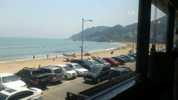 Songjeong Beach, Busan, South Korea