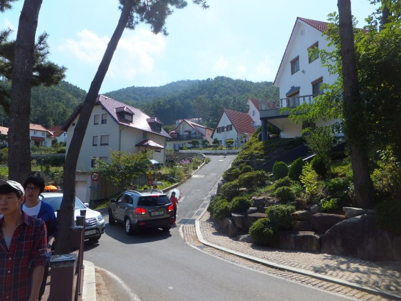 German village, Namhae Island, South Korea