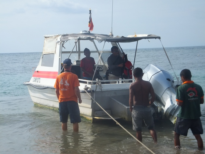 Compass Adventure's water taxi that runs from Dili to Atauro Island, East Timor