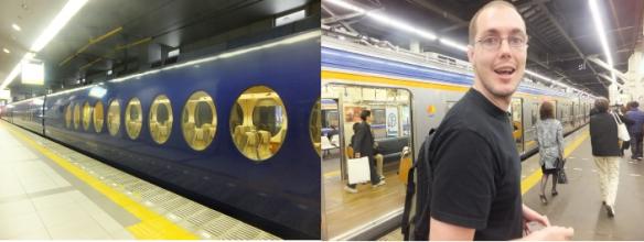 Osaka trains