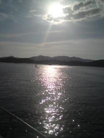 sunset phang nga bay