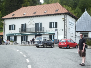 Cafe Sabine, a great bar in Roncevalles