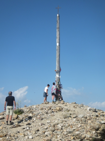 The highest point of the camino