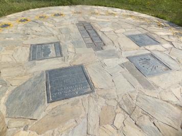 Sundial at Cruz de Ferro