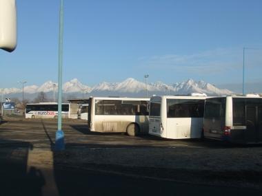 View from Poprad station