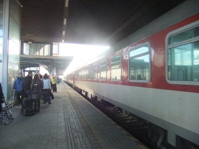 Poprad to Bratislava express