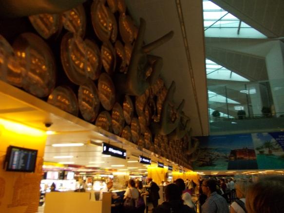 1 - Delhi airport