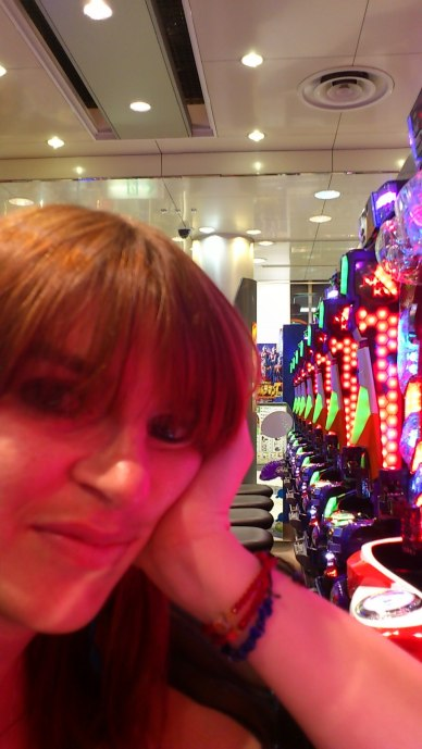 My reaction to pachinko bars. It was so boring!