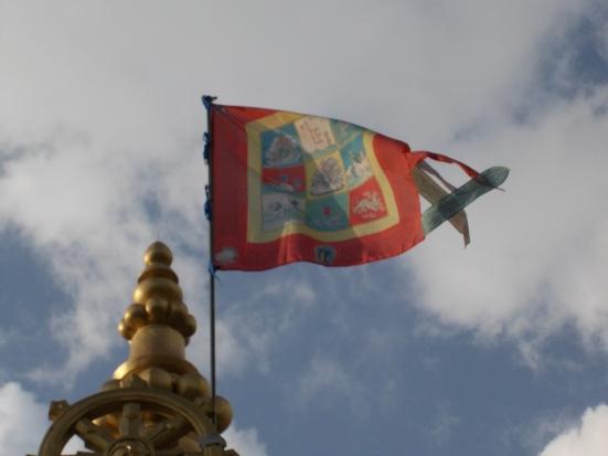 19 - Tibetan flag