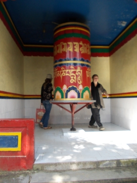 23 - Dharamsala 3 - Prayer wheel