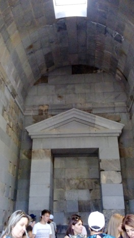 Inside Garni Temple