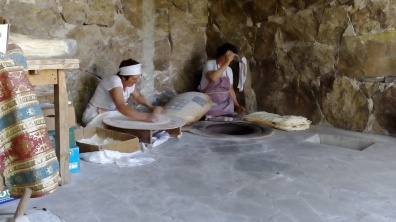 Ladies making lavash