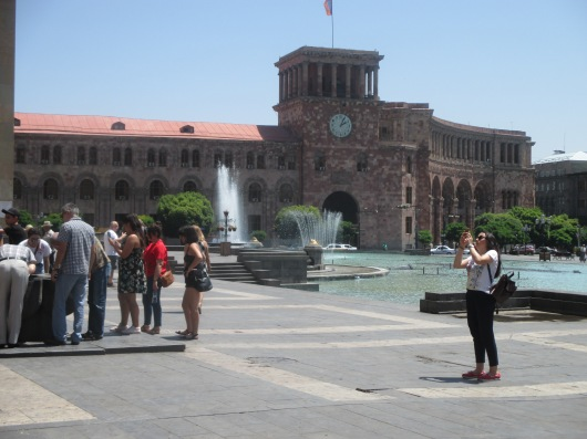 Revolution Square, Yerevan