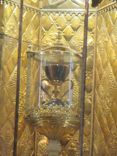 Capilla de Santo Caliz a.k.a. The Holy Grail